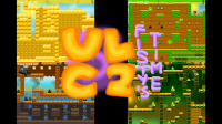 The Ultimate Level Challenge 2 Logo with Egypt, Medieval, Pirates, and Aztecs levels